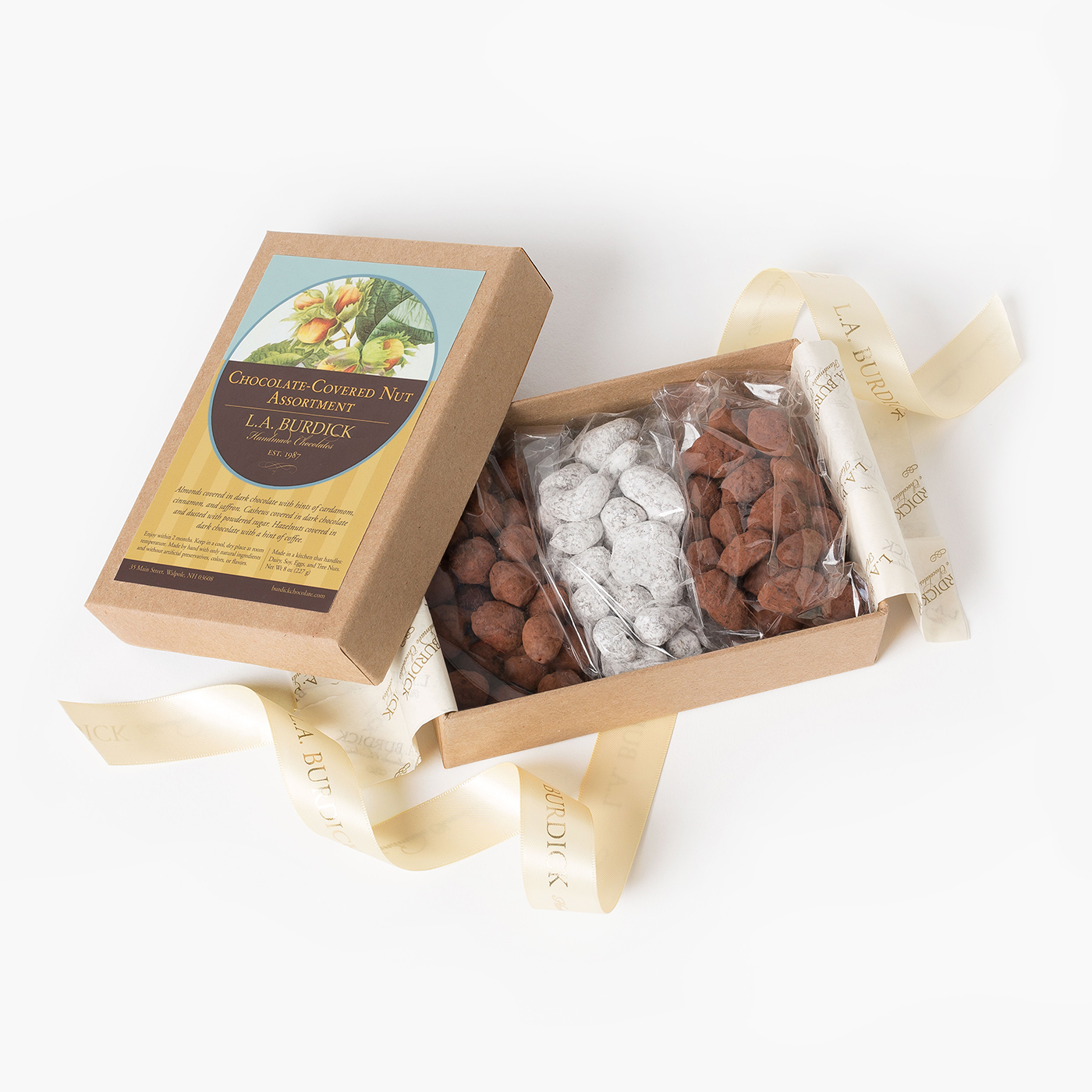 Chocolate-Covered Nut Assortment