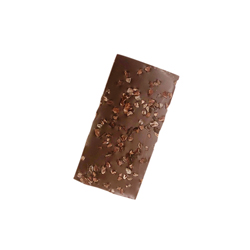 Dark Chocolate Bar with Cocoa Nibs
