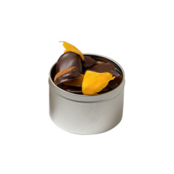 Chocolate-Dipped Mangoes & Apricots