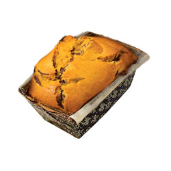 Dark Chocolate Chip Pumpkin Loaf